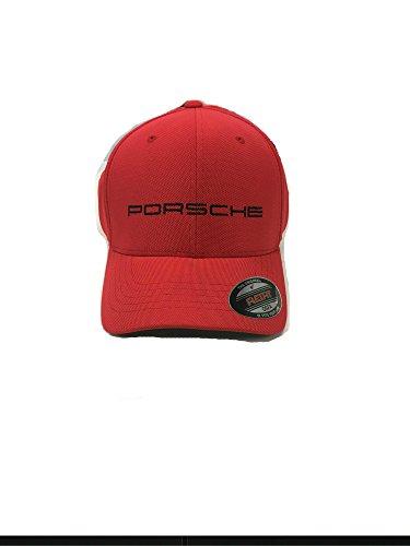 (Porsche Genuine Red Motorsport Flexfit Cap OSFM)