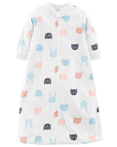 - Carter's Baby Infant Microfleece Animal Sleepbag with Cats, Dogs and Bears (Girls, Small)