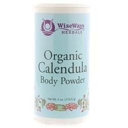 WiseWays Herbals - Calendula Body Powder 3 oz - Body Care