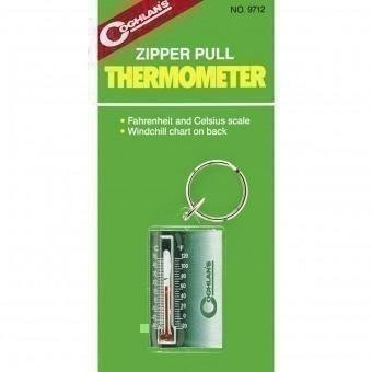 - Coghlan's Zipper Pull Thermometer