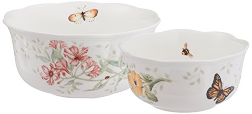 Lenox Butterfly Meadow Nesting Bowls, Set of 2