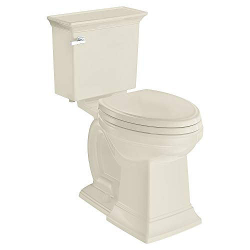 - American Standard 2917228.222 Town Square S Right Height Elongated Toilet in Linen,