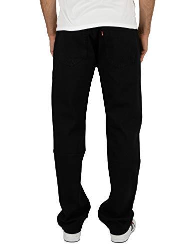 Levi's Mens 501 Straight Jeans Black Size 38 Length 32 (Us)