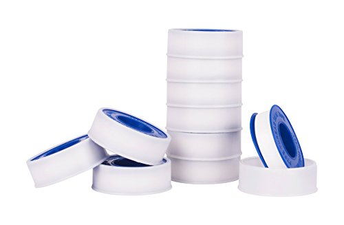 Premium White Pipe Water Sealant Plumbers Thread Tape - 1/2