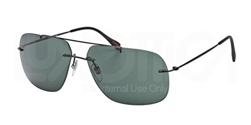 Prada Linea Rossa Men's 0PS 55PS Black/Grey - 2014 Men Sunglasses Prada