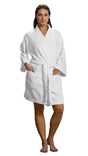 Kimono Bamboo Bathrobes Length Cotton
