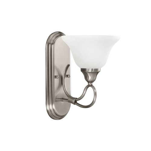 Kichler 5556AP One Light Wall Sconce (Antique Pewter 1 Light)