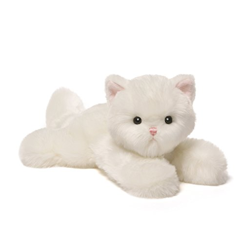 GUND Snowflake Baby Cat Stuffed Animal Plush, White, 5