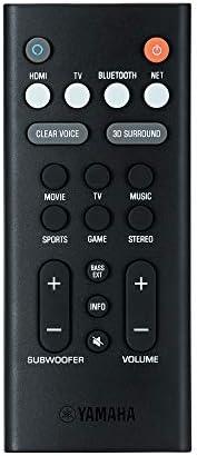 Bluetooth y control de voz Alexa integrado Yamaha YAS-209 barra de sonido con subwoofer inal/ámbrico