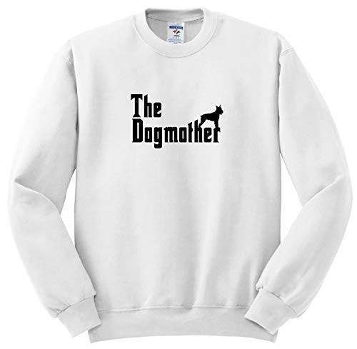 (Carsten Reisinger - Illustrations - The Dogmother Schnauzer Silhouette Funny Dog - Sweatshirts - Youth Sweatshirt XS(2-4) (ss_294853_9))