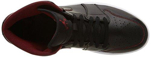 black Air Schwarz Nike Mid gym 1 028 white Sport Homme Chaussures Black De Red Jordan f4PPxT
