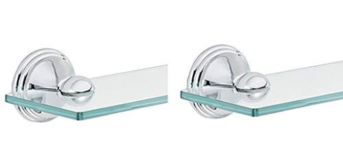- Moen DN8490CH Preston Bathroom Vanity Shelf, Chrome (Pack of 2)