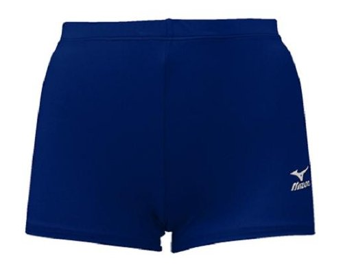 - Mizuno Low Rider Volleyball Short, Navy, Small