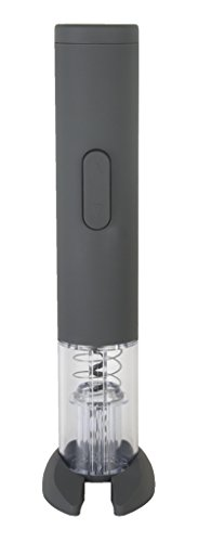 BarCraft Battery Operated Electronic Corkscrew, Gray ()