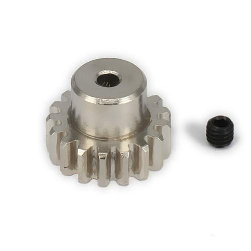 ShineBear 1PC 17T Motor Gear for rc Hobby Model car 1/18 a959 a969 a979 k929 Spare Parts RC car Model car Parts&Accs Black/Silver - (Color: Silver) from ShineBear