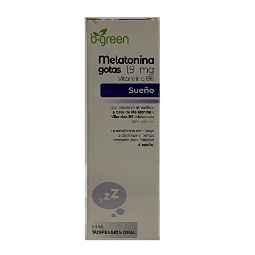 B.Green (Lab. Lebudit) Melatonina Forte, 50 ml