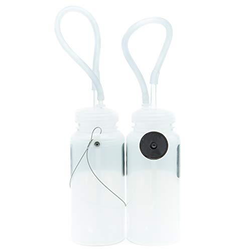 Genesis Brake Bleeding Assistant Bottles, Magnet and Cable Mount - 2 Bottles by Genesis Technologies (Image #1)