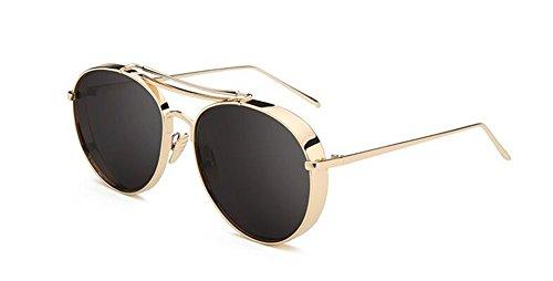 du de style Lennon B en de vintage retro Frêne métallique cercle soleil polarisées lunettes rond Noir Morceau inspirées qI8RdXdw