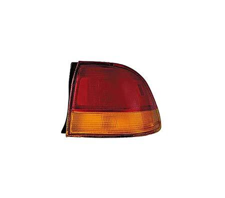 Fits 1996-1998 Honda Civic Rear Tail Light Passenger Side Assembly Unit HO2801117 4dr For Sedan; quarter panel mounted - replaces - Rear Civic Quarter Panel