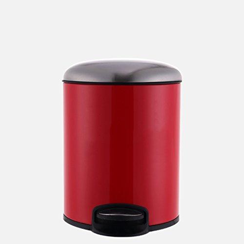 Haodan electronics Stainless Steel Pedal Bin, Fashion Home B