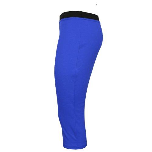 unie bureau Splash moulante jupe Marine crayon mi Runway pour longue Pour femme Bleu extensible zUxaP