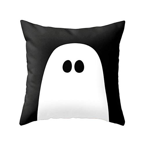Ghost pillow Ghost cusnion Halloween pillow Halloween cushion Halloween decor halloween home halloween throw pillow by Latte Design