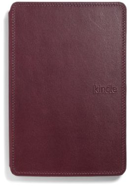 Amazon Kindle Lighted Leather Cover, Wine Purple (for Kindle 5th Generation, 2012 model - does not fit current Kindle, Paperwhite, Touch, or Keyboard)