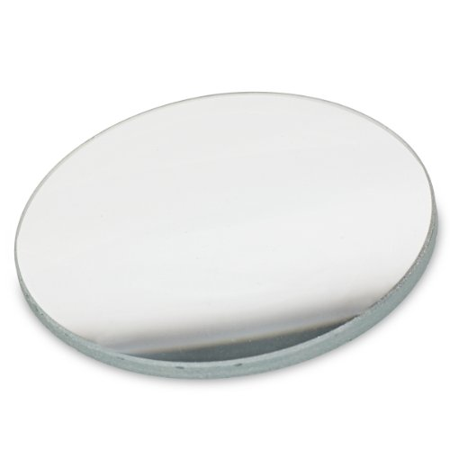 American Educational Unmounted Double-Convex Lens with Ground Edges, 38mm Diameter, 10cm Focal Length (Bundle of 10)