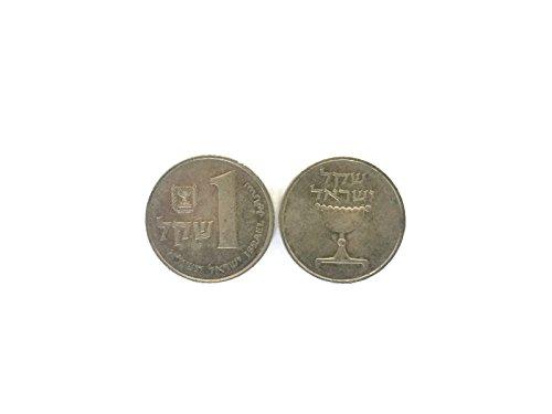 - Israel 1 Old Shekel Coin 1981 Collectible Rare Vintage Sheqalim