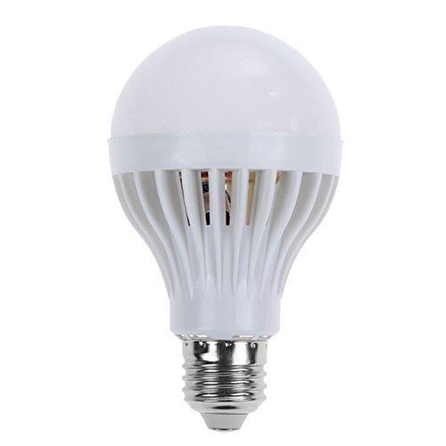 AMZLUCKY - ED Bulb E27 Motion Sensor Led Sound Voice Control Lamp LED Light Bulbs Ampoule Led E27 LEDs lamp for Porch Hallway TH4