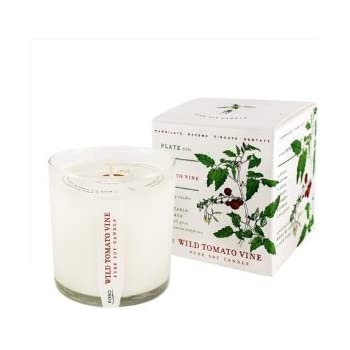 Wild Tomato Vine Soy Candle with Plantable Box