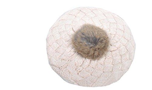 Xinliya Baby Beret Cap Headwear Bunny Ears Knit Hat Beanie Earflap