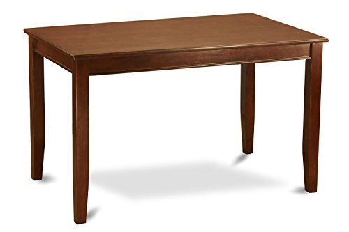 Table Height 36: East West Furniture DUT-MAH-H Rectangular Counter Height