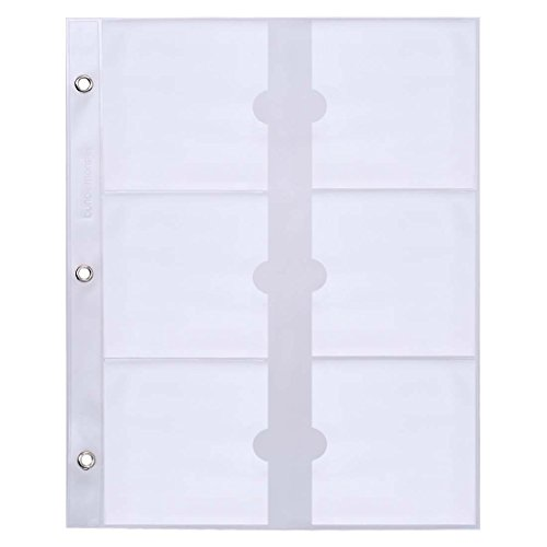 BMC Nail Plate Organizer Binder Sheets Starter Kit: 10 Universal Sizing Sheets - Fit stickers, other plates, and etc.