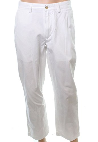 Polo Khaki Chino (Polo Ralph Lauren Mens Classic Fit Twill Chino Pants White 36/30)