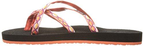 Teva Women''s Orange zaro Tiger Flip Flops Lily Olowahu rrvwqd6