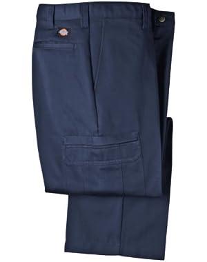 Mens LP337 Cotton Cargo Pant-NAVY