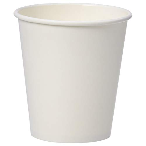 AmazonBasics Compostable PLA Laminated Hot Paper Cup, 10 oz., 100-Count