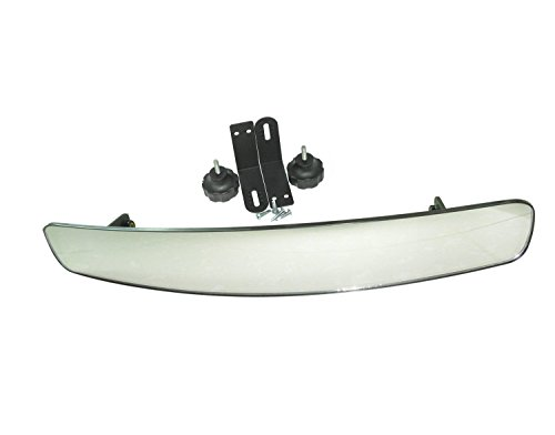 16.5 Extra Wide Panoramic Rear View Mirror for Golf Carts Su