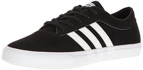 adidas Originals Men's Sellwood Fashion Sneaker, Black/White/White, 12 M US