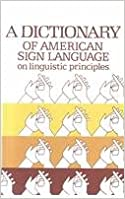 Book Dictionary of American Sign Language on Linguistic Principles