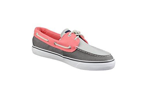 Sperry Bahama Grigio Khkai Scarpe Da Barca A Vela Scarpa Sneaker Da Donna