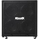 Krank Black Rev 4x12 Speaker Cabinet with Chrome Grill
