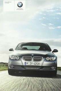 2010 BMW 3 Series Owner Manual (No Supplemental Material)