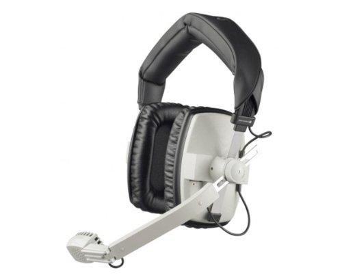 Beyerdynamic DT-109-200-400-GREY Closed Headset with Dynamic Hypercardioid Microphone, 400 Ohms, Grey