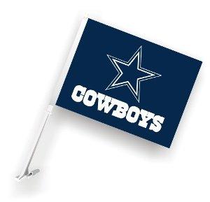 NFL Dallas Cowboys Car Flag 20 x 14in (Dallas Cowboys Football Car Flag)