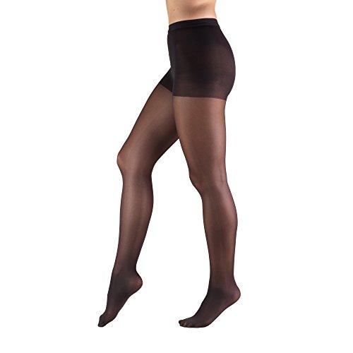 Truform Womens Sheer Compression Pantyhose