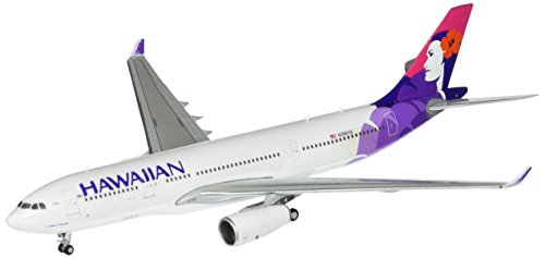 Gemini Jets A330-200 Hawaiian Airplane Model (1:400 Scale) (Hawaiian Airlines Model compare prices)
