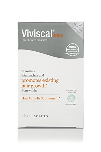 Viviscal Man Maximum Strength Hair Nourishment System, 180 Tablets by Viviscal
