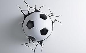Fußball 3D LED Wandleuchte 3D Light